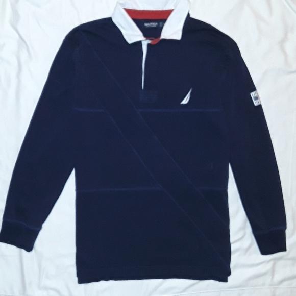 74106fac819 Nautica LS Rugby Shirt. M_5aa0859084b5ce317ce48f22